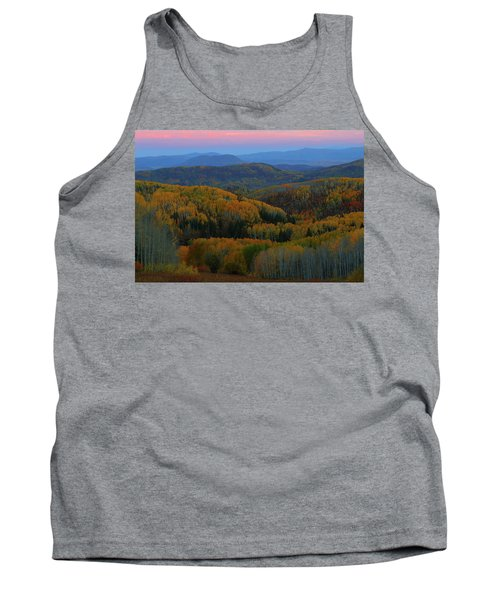 Autumn Sunrise At Rainbow Ridge Colorado Tank Top by Jetson Nguyen