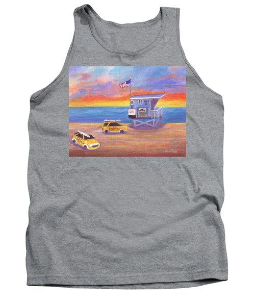 Tank Top featuring the painting Avenue C by Jamie Frier