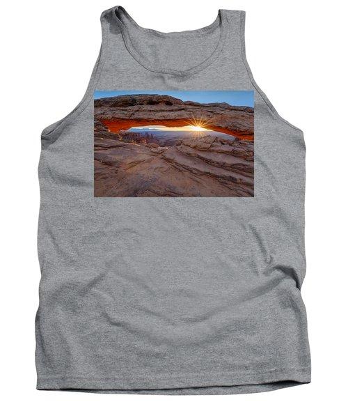 Awakening At Mesa Arch Tank Top