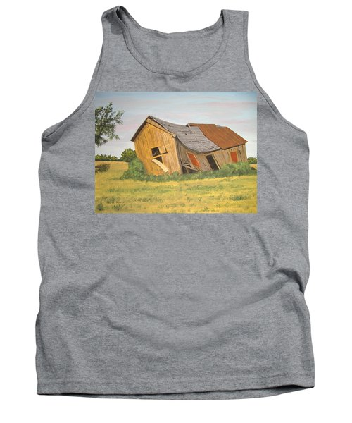 Tank Top featuring the painting Award-winning Original Acrylic Painting - Now I Lay Me Down To Sleep by Norm Starks