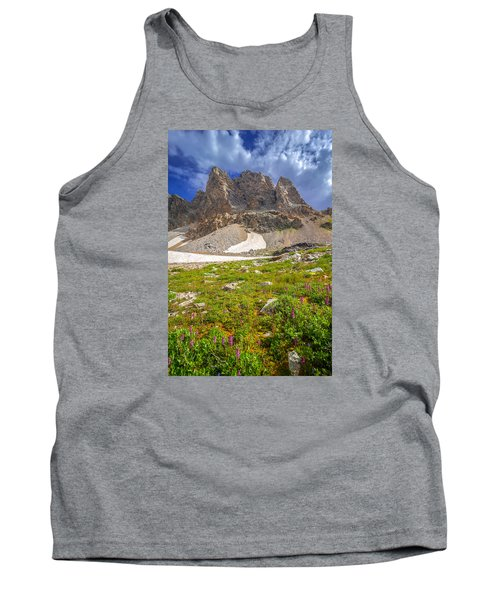 Tank Top featuring the photograph Awe Inspring Grand Teton Landscape by Serge Skiba
