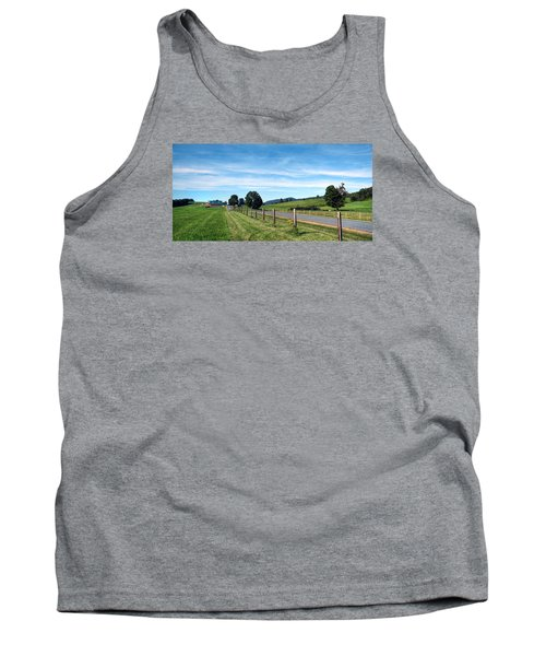 Ayrhill Farm Panoramic - The Berkshires Tank Top