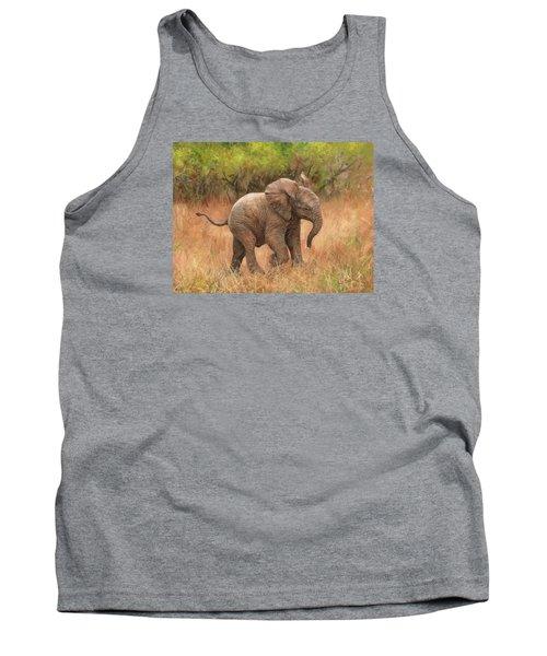 Baby African Elelphant Tank Top