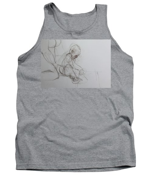 Baby, Drawing With Mother Tank Top