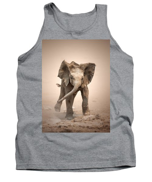 Baby Elephant Mock Charging Tank Top