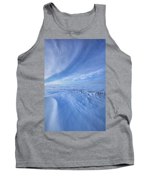 Tank Top featuring the photograph Baby It's Cold Outside by Phil Koch