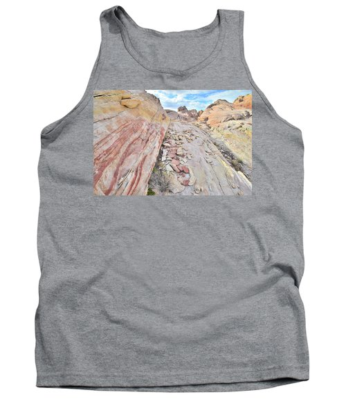 Back Country Valley Of Fire Tank Top by Ray Mathis