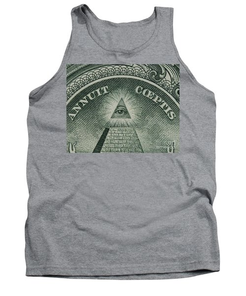 Back Of 1 Dollar Bill Tank Top