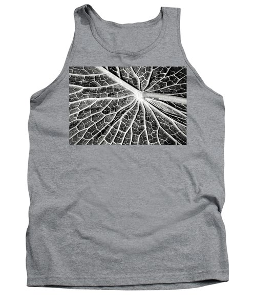 Back Of A Water Lily Pad Tank Top