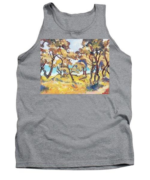 Backlight Olive Trees Marmari Beach Tank Top