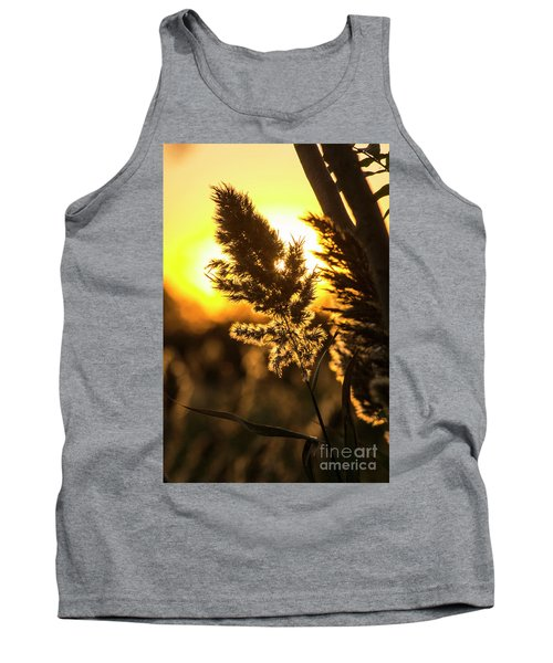 Tank Top featuring the photograph Backlit By The Sunset by Zawhaus Photography