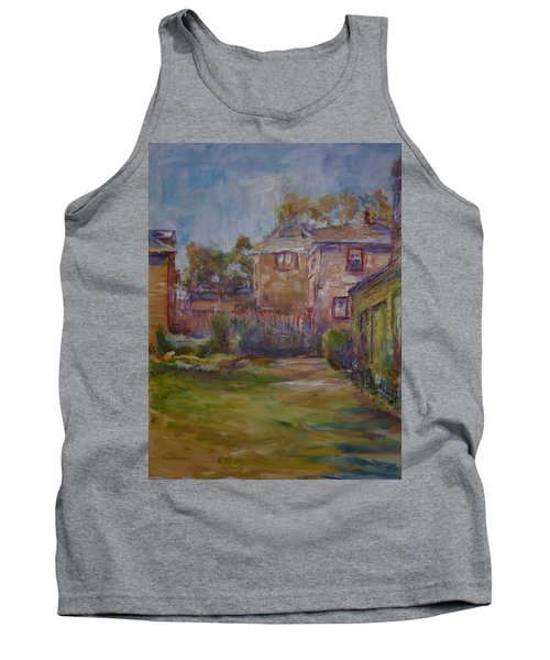 Backyard Impressions Tank Top by Helen Campbell