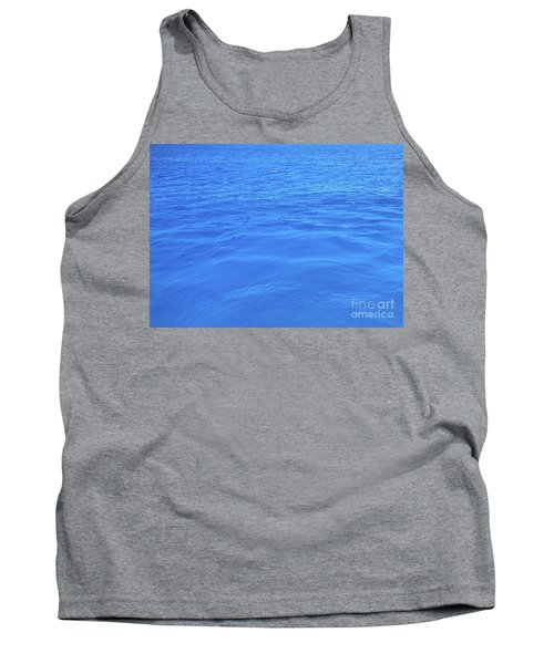Bahama Blue Tank Top