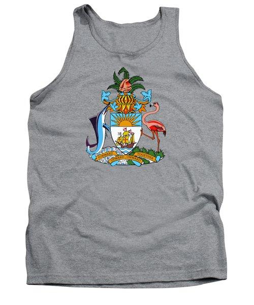Bahamas Coat Of Arms Tank Top