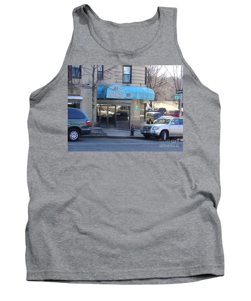 Tank Top featuring the photograph Baker Field Deli by Cole Thompson