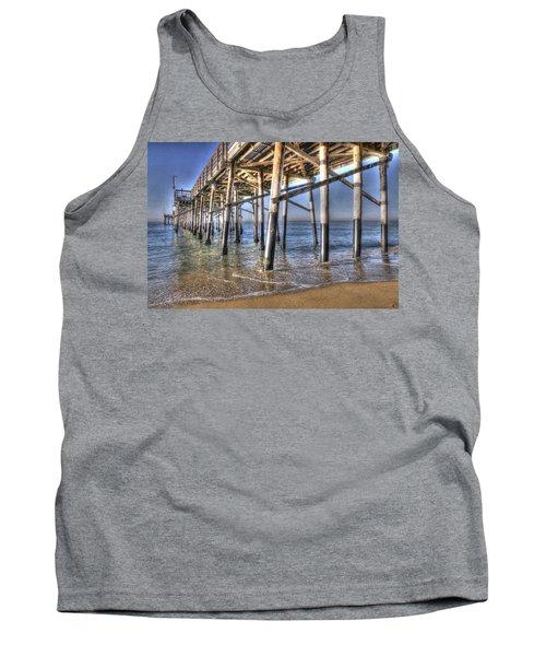 Balboa Pier Pylons Tank Top