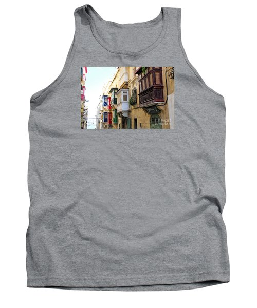 Balconies Of Valletta 3 Tank Top
