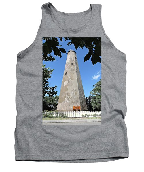 Tank Top featuring the photograph Bald Head Island Lighthouse by Shelia Kempf
