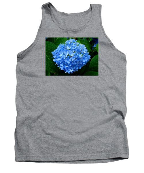 Tank Top featuring the photograph Ball Of Blue by Michiale Schneider