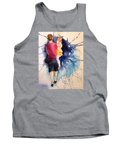Tank Top featuring the painting Ballet Mum - Original Sold by Therese Alcorn