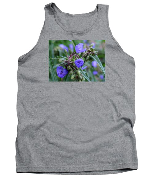 Tank Top featuring the photograph Balmy Blue by Michiale Schneider