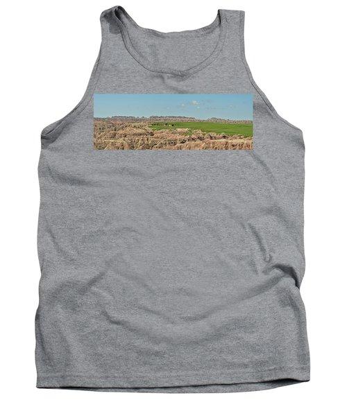 Badlands Panorama Tank Top by Nancy Landry