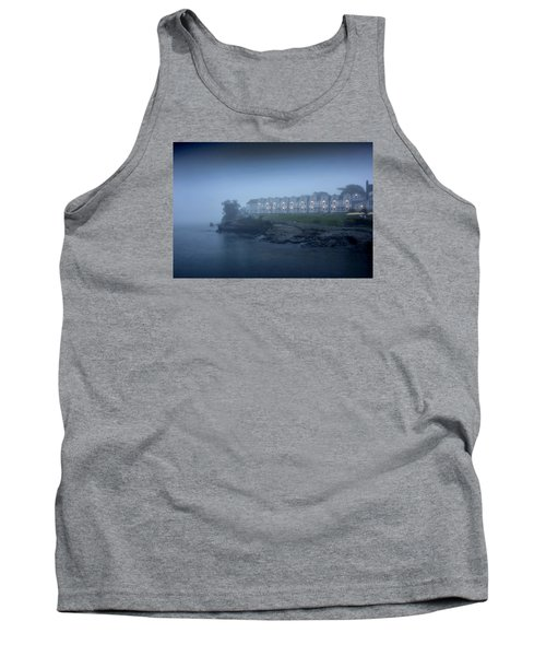 Bar Harbor Inn - Stormy Night Tank Top by Brendan Reals