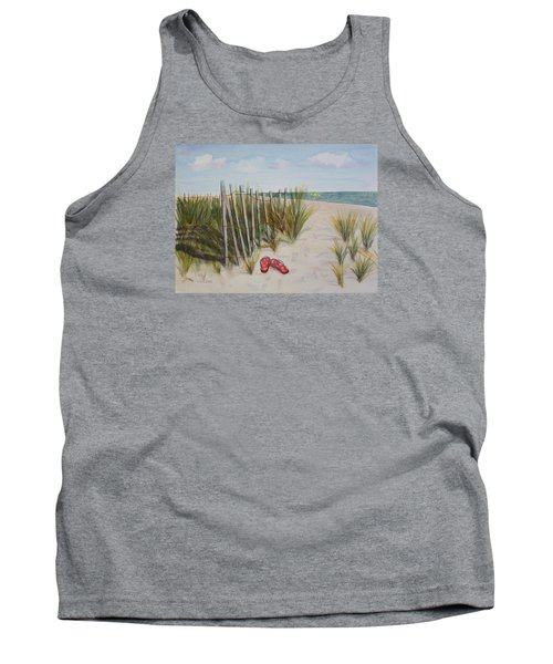 Barefoot On The Beach Tank Top