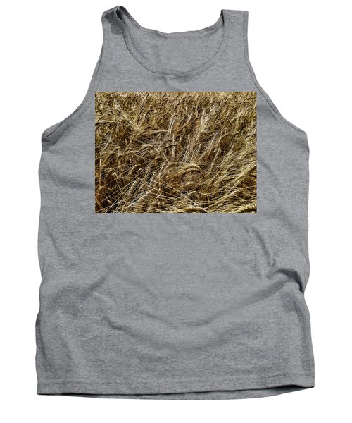 Tank Top featuring the photograph Barley by RKAB Works