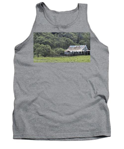 Barn In The Meadow Tank Top