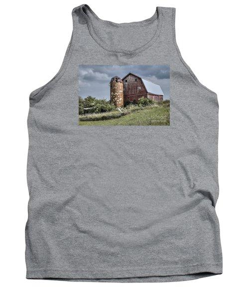 Barn On Hill Tank Top
