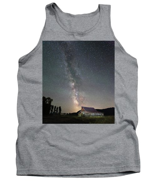 Barn On Mormon Row  Tank Top