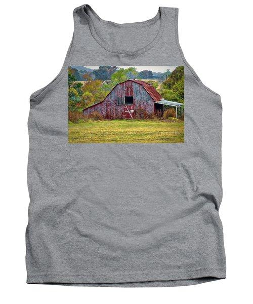 Barn On White Oak Road 2 Tank Top