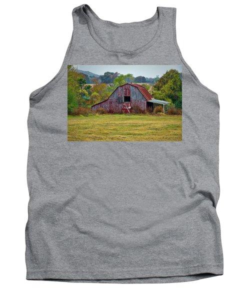 Barn On White Oak Road Tank Top