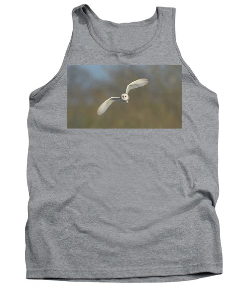 Barn Owl Hunting In Worcestershire Tank Top