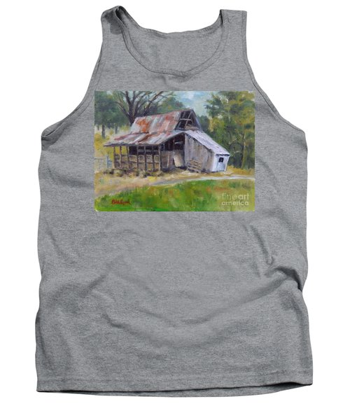 Barn Shack Tank Top by William Reed