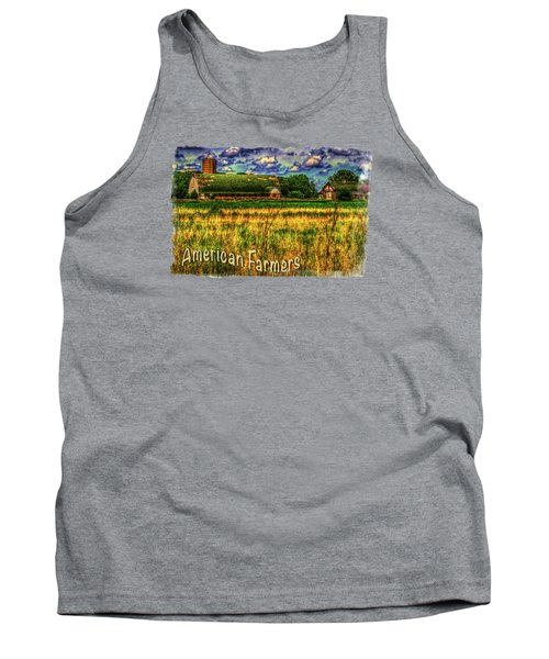 Barn With Green Roof Tank Top