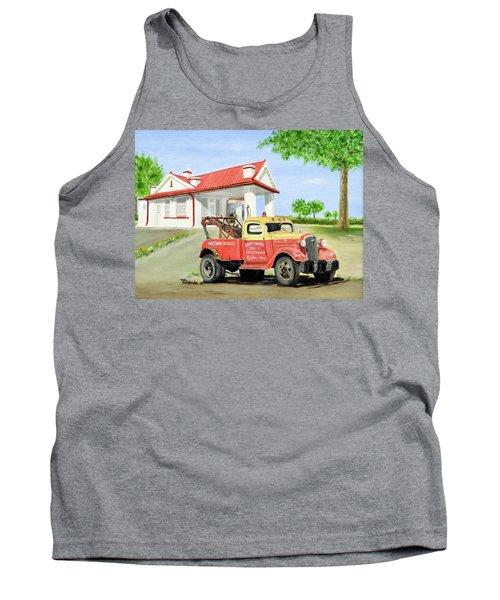 Barnett Garage Tank Top