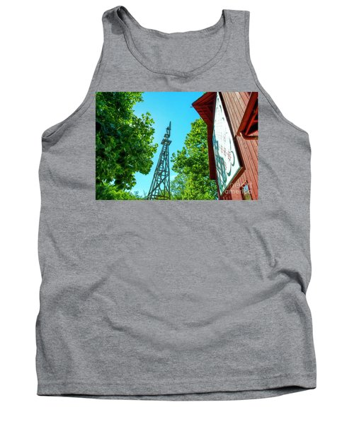 Barnquilt And Windmill Tank Top