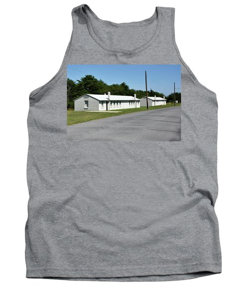 Barracks At Fort Miles - Cape Henlopen State Park Tank Top by Brendan Reals