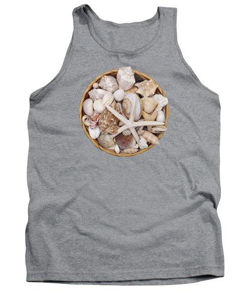Basket Of Shells Tank Top