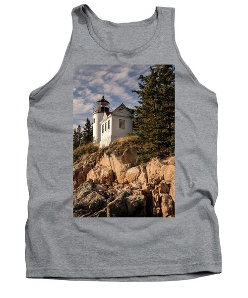 Bass Harbor Lighthouse Tank Top