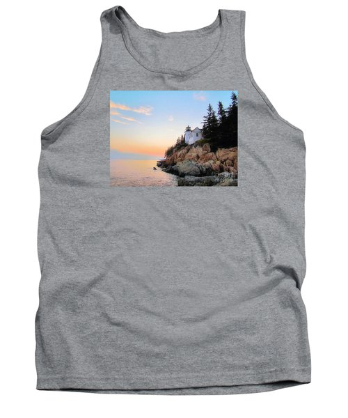 Bass Harbor Sunset II Tank Top