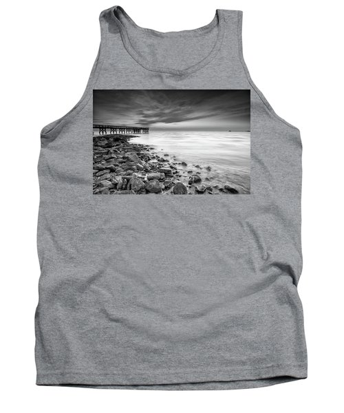 Tank Top featuring the photograph Bathe In The Winter Sun by Edward Kreis