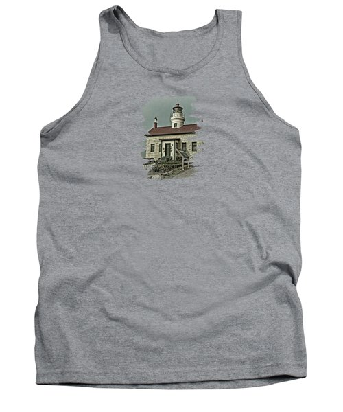 Battery Point Lighthouse Tank Top