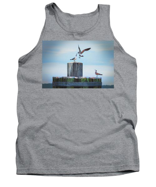 Battle Of The Gulls Tank Top