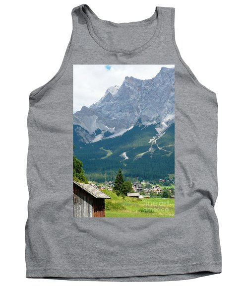 Bavarian Alps With Shed Tank Top