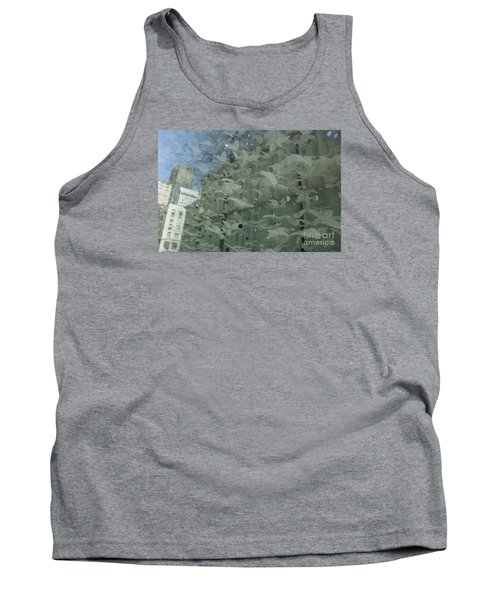 Tank Top featuring the photograph Bay City Reflections by Jeanette French