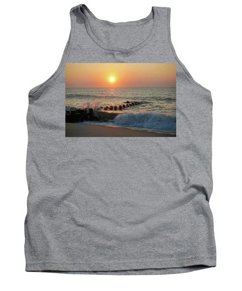 Bay Head Beach Sunrise 1 Tank Top