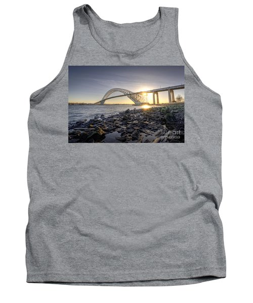 Bayonne Bridge Sunset Tank Top